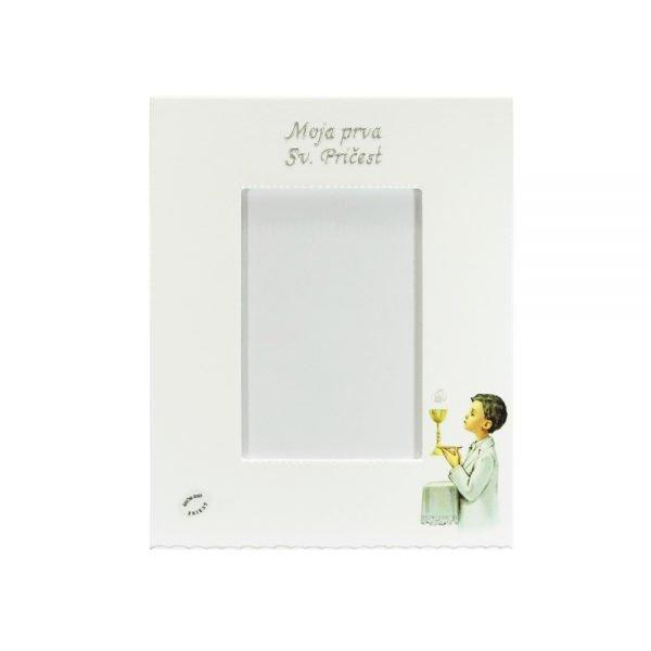 Personalizirani okvir za fotografije savršeni je poklon za pričest