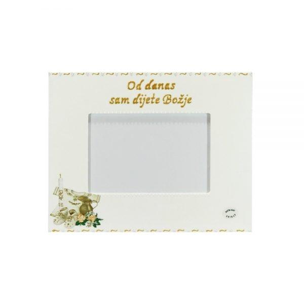 Personalizirani okvir za fotografije savršeni je poklon za krštenje