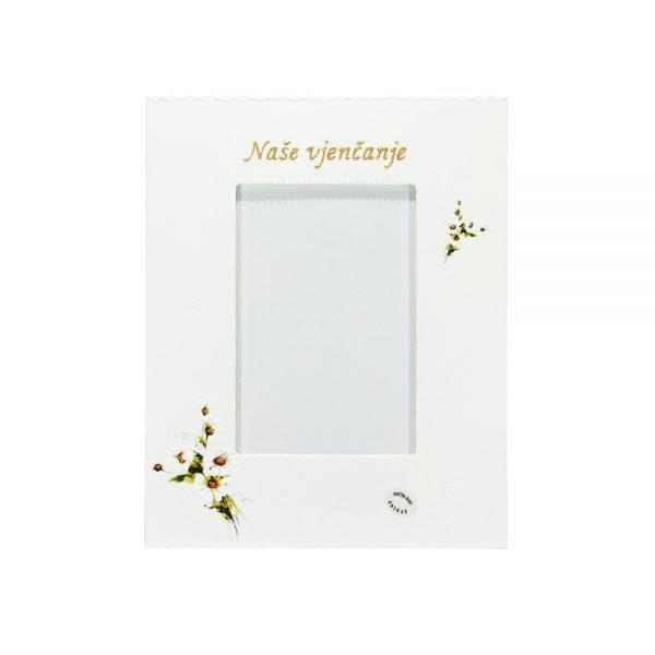 Personalizirani okvir za fotografije savršeni je poklon za vjenčanja i godišnjice