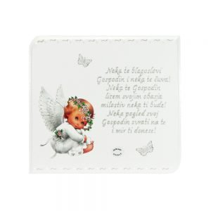 Personalizirana drvena slika savršeni je poklon za krštenja. rođenja djeteta, Sv. Pričest ili rođendane