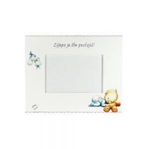 Personalizirani okvir za fotografije savršeni je poklon za krštenja i rođenja djeteta