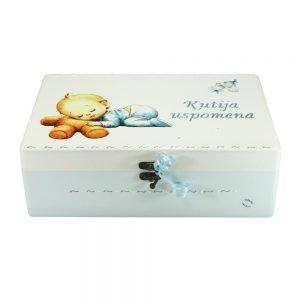 Personalizirana Kutija uspomena savršeni je poklon za krštenja i rođenja djeteta