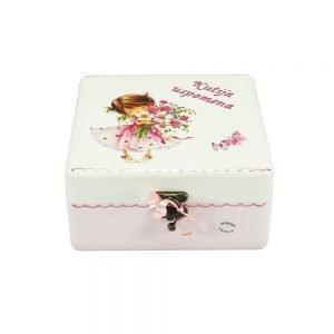 Personalizirana Kutija uspomena savršeni je poklon za krštenja, Sv. Pričest, rođendane, itd.