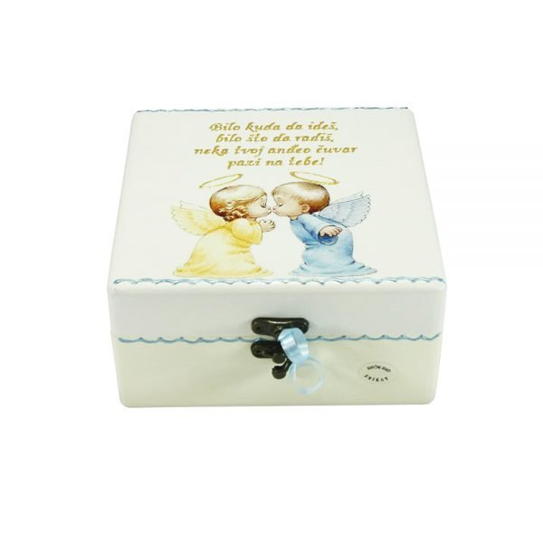 The personalized Box of Memories is the perfect gift for baptisms, St. Communion, birthdays, etc.