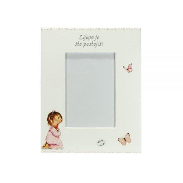 Personalizirani okvir za fotografije savršeni je poklon za krštenja, Sv. Pričest, rođendane