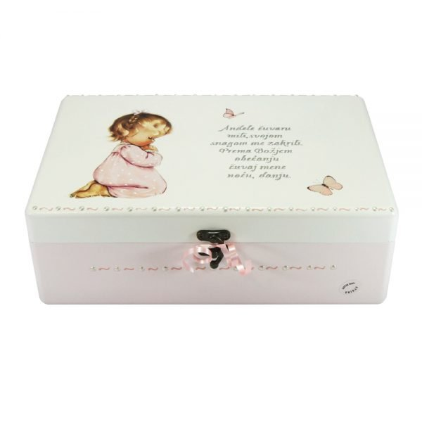 Personalizirana Kutija uspomena savršeni je poklon za krštenja, Sv. Pričest, rođendane