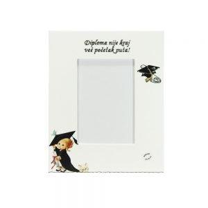 Personalizirani okvir za fotografije savršeni je poklon kao uspomena na diplomiranje