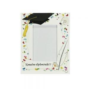 Personalizirani okvir savršeni je poklon kao uspomena na diplomiranje