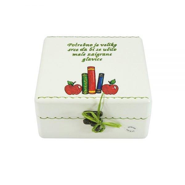 Personalizirana kutija uspomena savršeni je za učiteljice i tete u vrtiću
