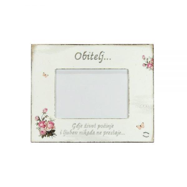 Personalizirani okvir za fotografije savršeni je poklon za rođendan ili vjenčanje