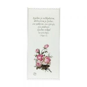 Personalizirana drvena slika savršeni je poklon za rođendane, krštenja, vjenčanja, ili neke druge prigode