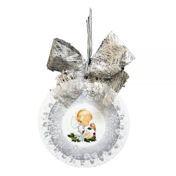 Ručno rađena unikatna kuglica za bor bit će savršen poklon koji će se definitivno isticati na svakom boru!