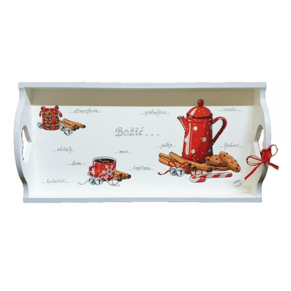 Personalizirani poslužavnicisu tu da ti pomognu poslužiti kavu ili čaj na simpatičan i praktičan način.