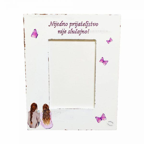 Personalizirani okvir za fotografije savršeni je poklon za svaku prigodu.