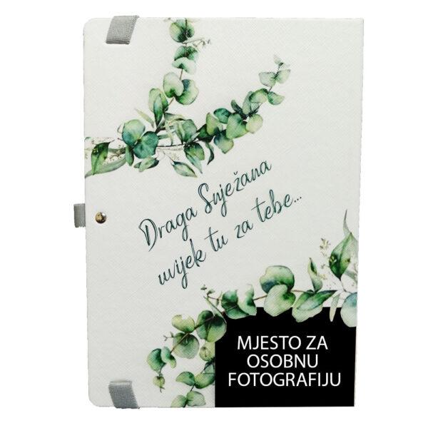 Rokovnik / Planer Personaliziran osobnom fotografijom
