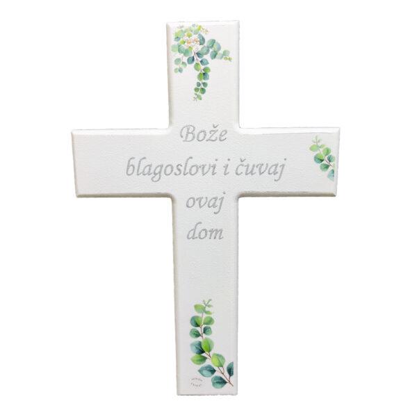 Križ je poklon za bilo koju prigodu. Križje ručni rad, nosi rukom pisan i pomno odabran citat baš za prigodu za kojoj darujete