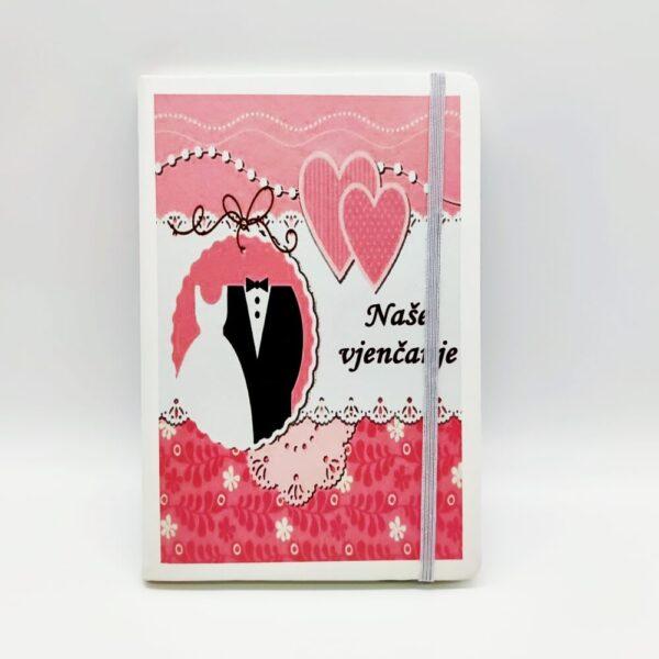 Uspješniji oni koji planiraju dan, tjedan, mjesec, godinu... zbog toga poklonite sebi i dragim osobama planer/rokovnik i krenite planirati svoje vjenčanje