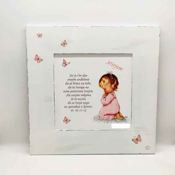 Personalizirana slika je poklon za sve prigode. Slika je ručni rad, nosi rukom pisan i pomno odabran citat baš za osobu kojoj darujete