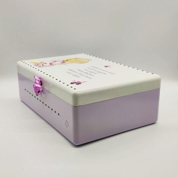 Personalizirana kutija uspomena savršeni je poklon za pričest